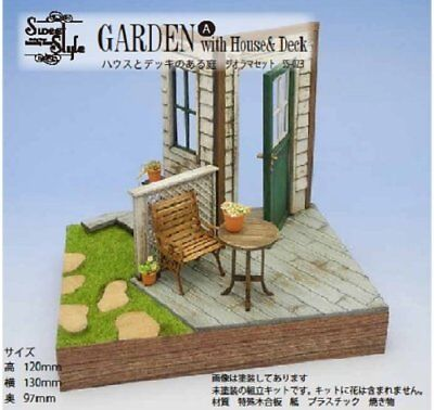 1/24 Sweet Style Series House& Deck Garden