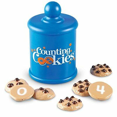 Learning Resources Smart Counting Cookies, 1-3/4 Inch D