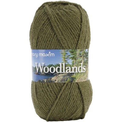 Mary Maxim Woodlands Yarn, Moss