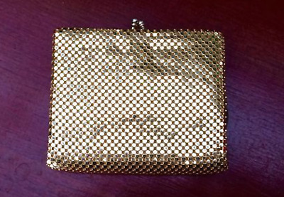 GLOMESH | Vintage Gold Square Purse