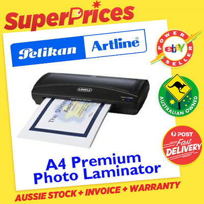 ARTLINE◉A4 LAMINATOR◉LAMINATING MACHINE◉HOME OFFICE SCHOOL PROJECT SAFE KEEP◉Oz◉