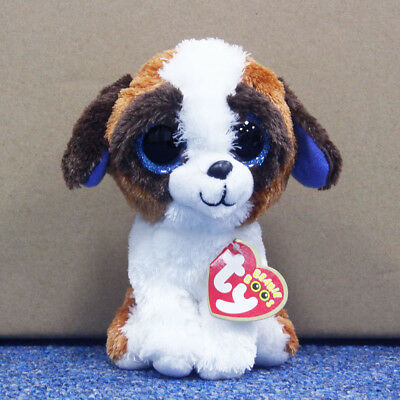 "Ty Beanie Boos 6"" Cute Dogs Stuffed Plush Toy Soft Animals Toy Babys Plush Dolls"