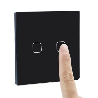 Remote Control Smart Touch Light Switch  Intelligent Controller Crystal Panel