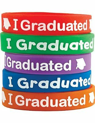 Teacher Created Resources 6581 I Graduated Wristbands