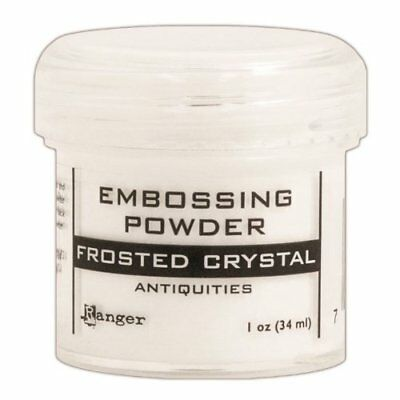 Ranger Embossing Powder, 1-Ounce Jar, Frosted Crystal