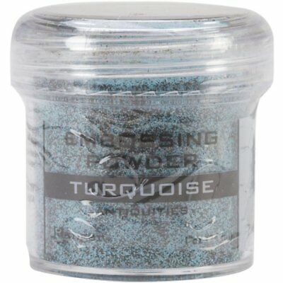 Ranger Embossing Powder, 1-Ounce Jar, Turquoise