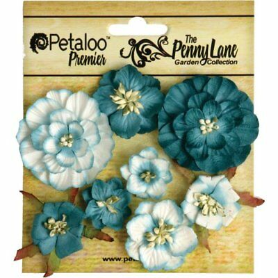 Petaloo Penny Lane Mixed Blossoms, 1-Inch to 1.75-Inch,