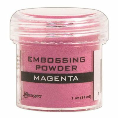 Ranger Embossing Powder, 1-Ounce Jar, Magenta