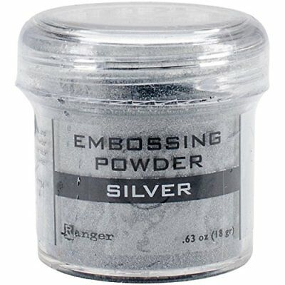 Ranger Embossing Powder, 0.63 oz Jar, Silver