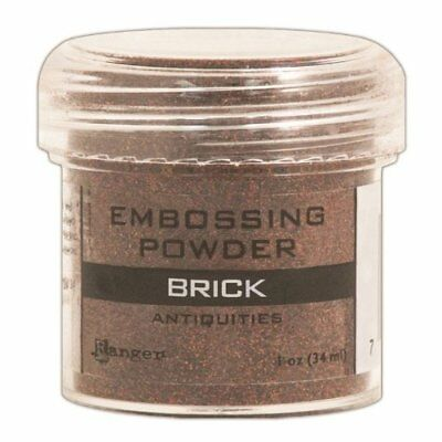Ranger Embossing Powder, 1-Ounce Jar, Brick