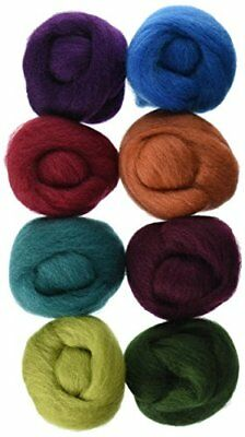 Wistyria Editions WR-905R Wool Roving, The Bouquet, 8-P