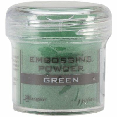Ranger Embossing Powder, 1-Ounce Jar, Green