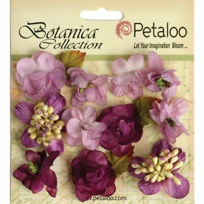 Petaloo Botanica Minis Decorative Flower, 1-Inch, Laven