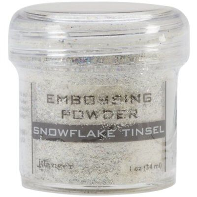 Ranger Embossing Powder, 1-Ounce Jar, Snowflake Tinsel