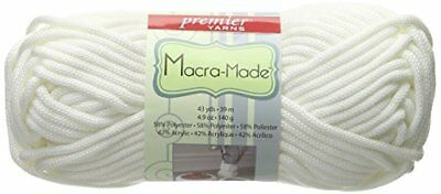 Premier Yarns Macra Made Yarn, White