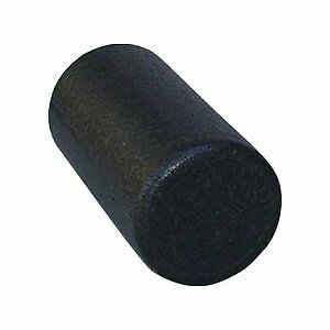 Black High Density Foam Rollers Full Round - Extra Firm