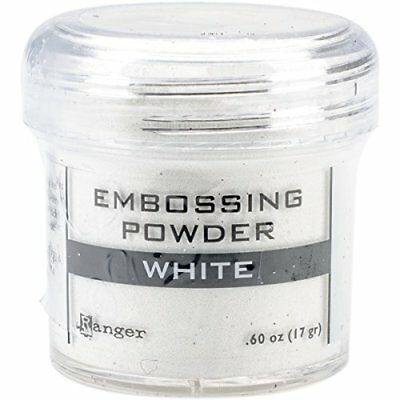 Ranger Embossing Powder, 0.60 oz Jar, White