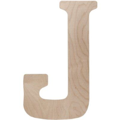 Walnut Hollow Wood Letter, 18 by 0.5-Inch, Monogrammed