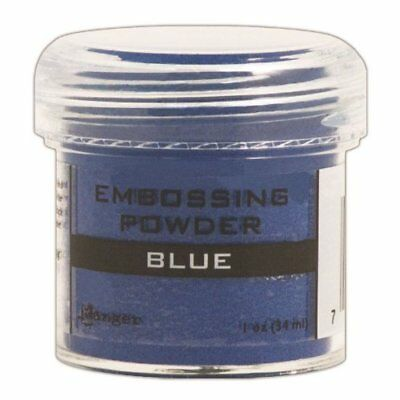 Ranger Embossing Powder, 1-Ounce Jar, Blue