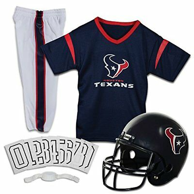 Franklin Sports NFL Houston Texans Deluxe Youth Uniform