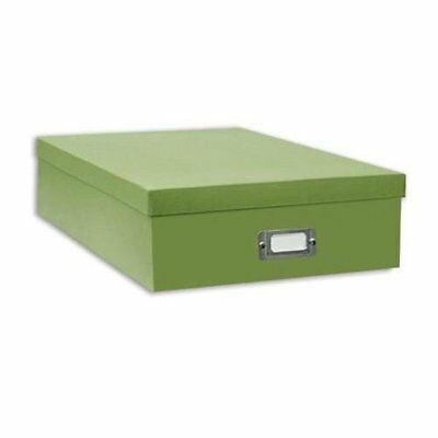 Pioneer Scrapbooking Storage Box with Solid Color Exter