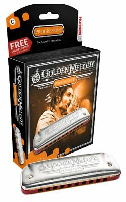 Hohner Golden Melody Harmonica Boxed Key Of D Flat