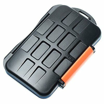 JJC Water-Resistant Extremely tough Memory Card Case MC