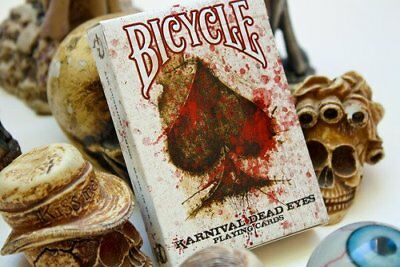 Bicycle Karnival Dead Eyes Playing Cards