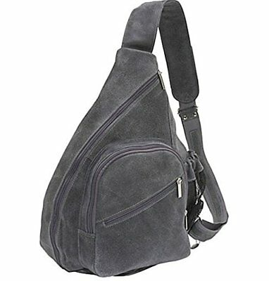David King & Co. Backpack Style Cross Body Bag Distress