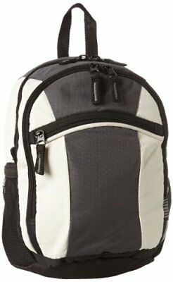 Everest Deluxe Small Backpack, Dark Gray, One Size
