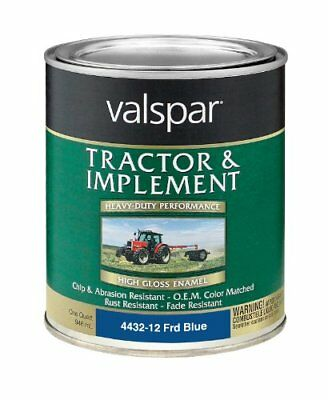 Valspar 4432-12 Ford Blue Tractor and Implement Paint -