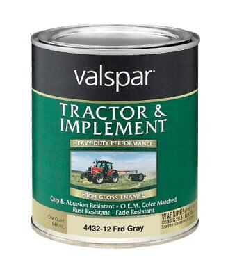 Valspar 4432-13 Ford Gray Tractor and Implement Paint -