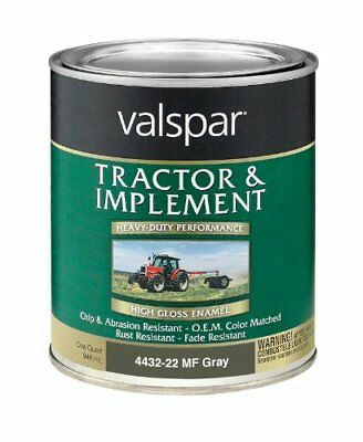 Valspar 4432-22 Massey Ferguson Gray Tractor and Implem