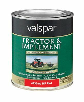 Valspar 4432-02 Massey Ferguson Red Tractor and Impleme