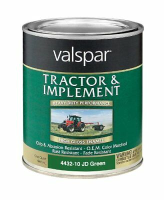 Valspar 4432-10 John Deere Green Tractor and Implement