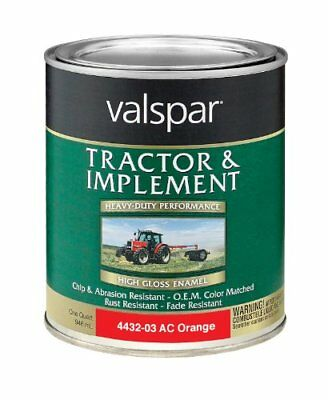 Valspar 4432-03 Allis Chalmers Orange Tractor and Imple