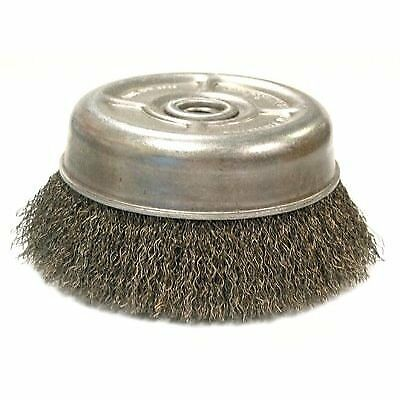 Crimped Wire Cup Brush For Small Angle Grinders-UC & UC