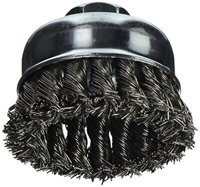 Vermont American 16830 3-Inch Knotted Wire Cup Brush wi