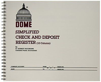 Dome Publishing Co Inc Check/Deposit Register, 50 Pages
