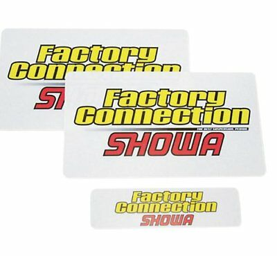 Factory Connection Fork/Shock Decal Set - SHOWA FCSHOWA