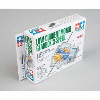 Tamiya Low Current Motor Gearbox 3 Speed