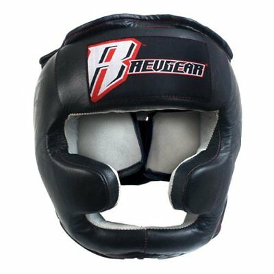 Revgear Headgear with Cheek and Chin Protector (Small)