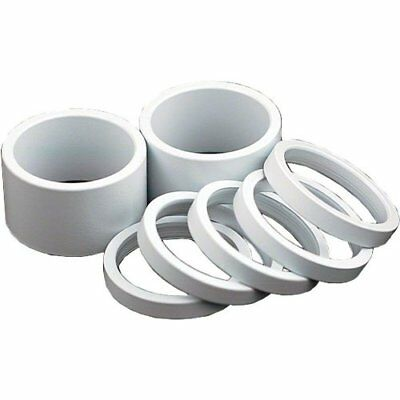 Wheels Manufacturing 1-1/8-Inch Spacer (White/10mm, Bag