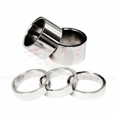 Wheels Manufacturing 1-1/8-Inch Spacer (Silver/ 1.5mm,