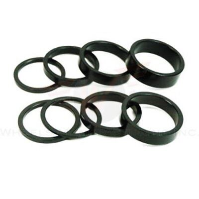 Wheels Manufacturing 1-1/8-Inch Spacer (Black/7.5mm, Ba
