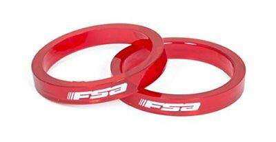 FSA PolyCarbonate Headset Spacer-Pack of 10 (1-1/8-Inch