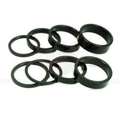 Wheels Manufacturing 1-1/8-Inch Spacer (Black/2.5mm, Ba