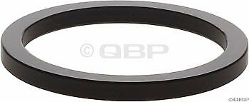 Wheels Manufacturing 1-Inch Spacer (Black/2.5mm, Bag of