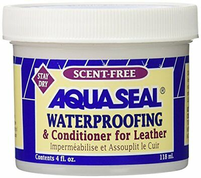 Aquaseal Leather Waterproof Cream, 4-Ounce