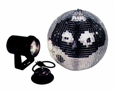 American Dj Mb8 Combo 8 Inch Mirror Ball Kit With Batte